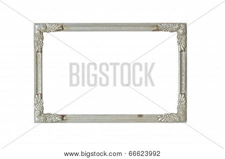 Old Silver Frame With Rust