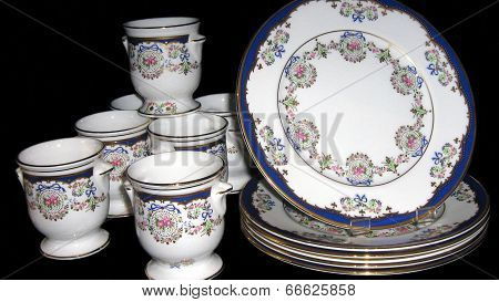plates of crockery