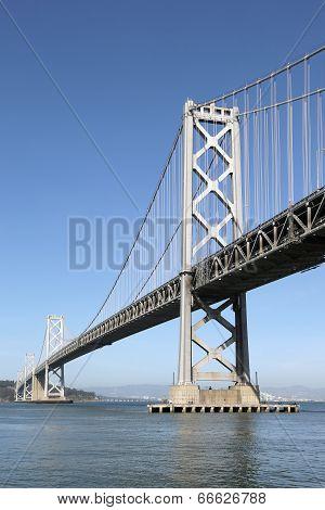 Oakland Bay Bridge In San Francisco, California