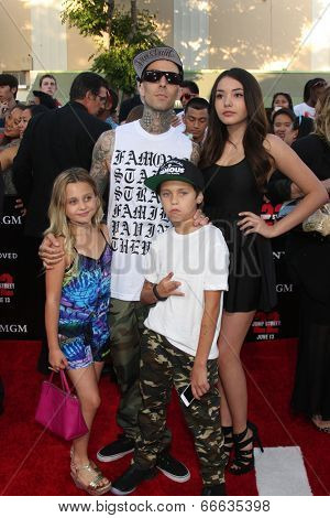 LOS ANGELES - JUN 10:  Travis Barker at the