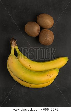 Kiwi And Banana