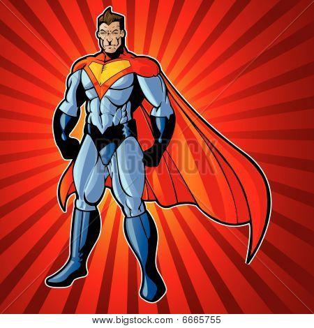 Generic super menschlichen Mann