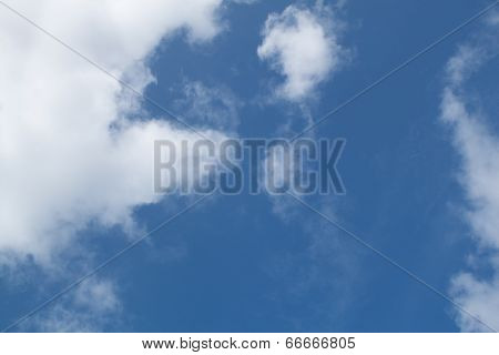 Blue Sky And Cloud