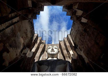 Buddha Image At Wat Sri Chum, Sukhothai