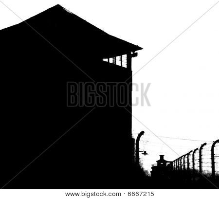 Watchtower At Kz Buchenwald