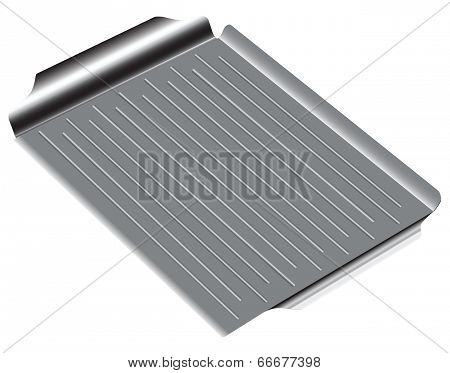 Pan With A Corrugated Surface