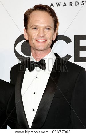 NEW YORK-JUNE 8: Actor Neil Patrick Harris attends American Theatre Wing's 68th Annual Tony Awards at Radio City Music Hall on June 8, 2014 in New York City.