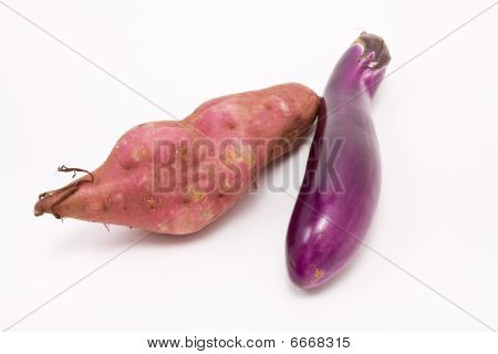 Sweet Potato N Aubergine