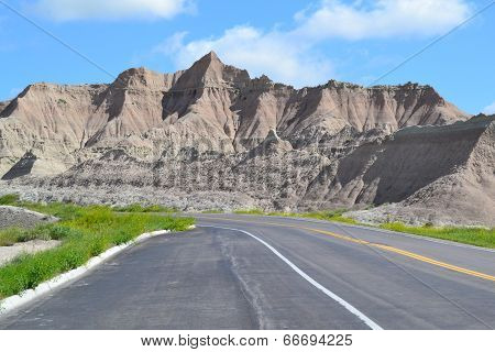 Highway and Rocks