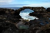 image of canary  - Natural Stone Arch in El Hierro Canary Islands