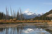 Постер, плакат: Вермиллион озеро Национальный парк Банф Альберта Канада