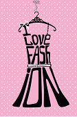 picture of composition  - Typography Dress Design - JPG