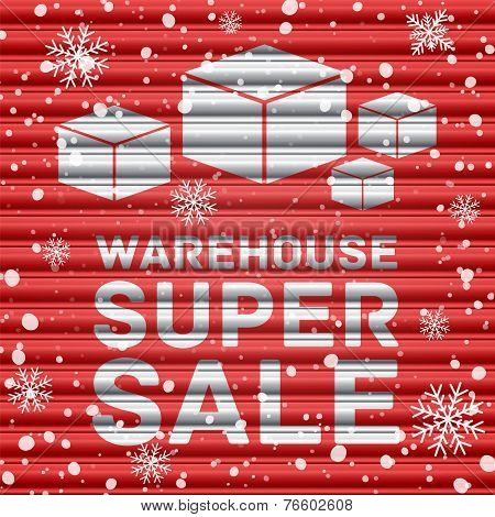 Winter warehouse super sale