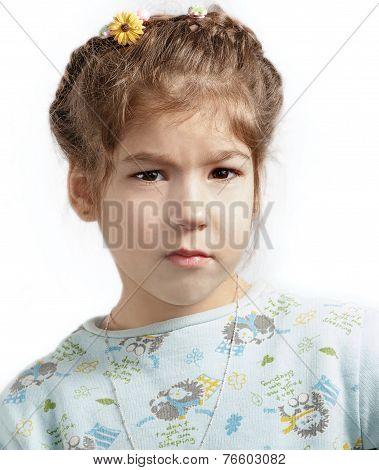 Little Girl Offended