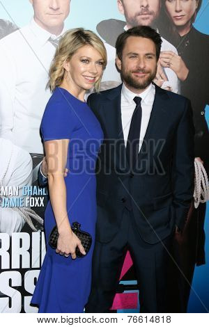 LOS ANGELES - NOV 20:  Mary Elizabeth Ellis, Charlie Day at the