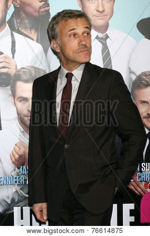 LOS ANGELES - NOV 20:  Christoph Waltz at the
