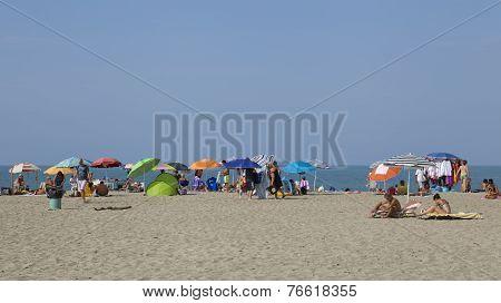 VIAREGGIO, ITALY ON AUGUST 30