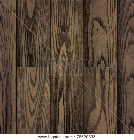 Seamless pattern of realistic natural plank wood texture background