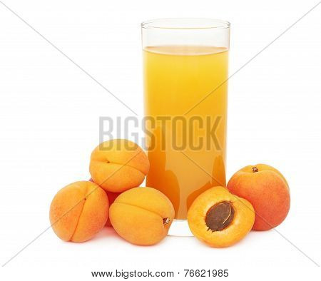 Apricot Juice (isolated)