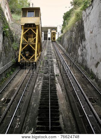 Train Elevator In Salvador Da Bahia. Brazil