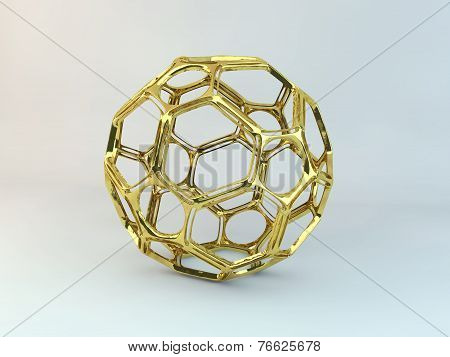 Golden Abstract Structure