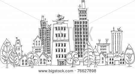 City background, Sketch collection