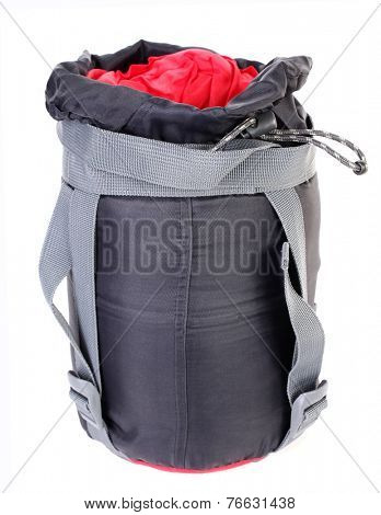 Modern compact sleeping bag for outdoor camping
