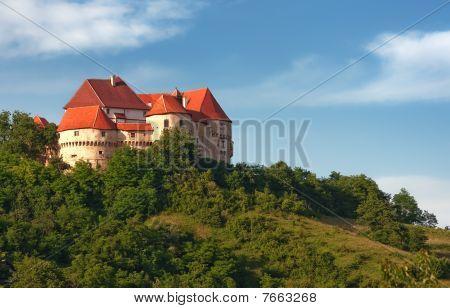 Medieval Croatian castle Veliki Tabor