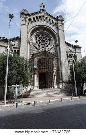 The Church Of Saint Pierre D Arene De Nice