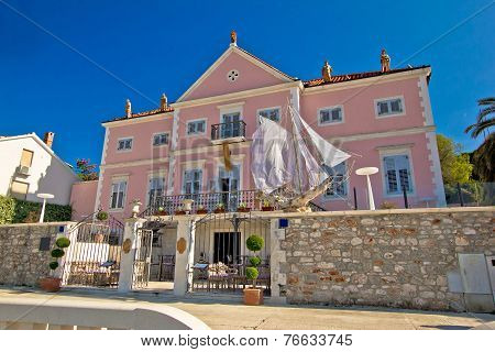 Stari Grad On Hvar Island Architecture