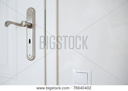 Horizontal View Of Door-handle