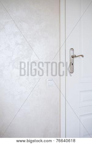 Vertical View Of Door-knob