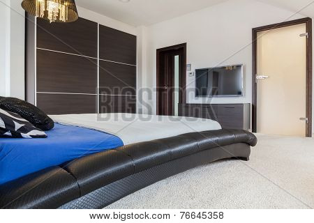 Bedroom With Plasma Tv