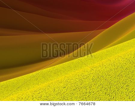 Backgrounds Collection - Yellow Crust And Purple Skies