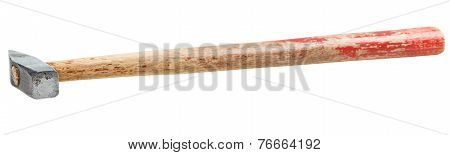 Cross Peen Hammer With Square Face Isolated
