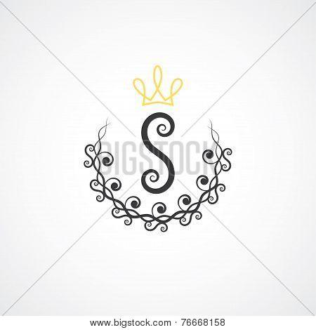 Letter S Monogram