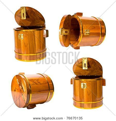 set of casks