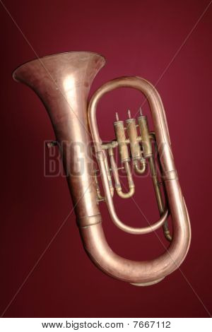 Old euphonium (detail)