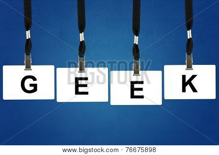 Geek (slang) Word