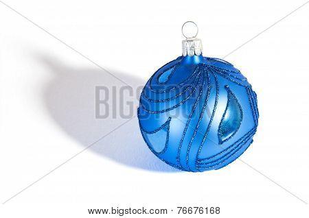 Blue Christmass Ball