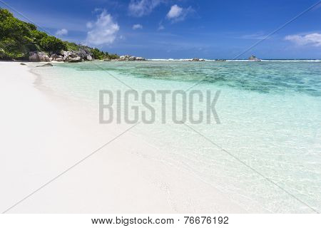 Perfect Beach, La Digue, Seychelles