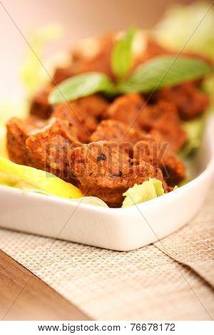 Turkish meatball, raw meat - 7