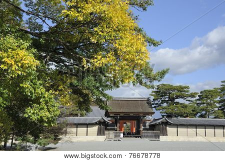 Palace Entrance Gate Kyoto