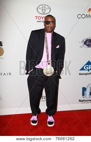 LOS ANGELES - NOV 19:  Slick Rick at the Ebony Power 100 Gala at the Avalon on November 19, 2014 in Los Angeles, CA