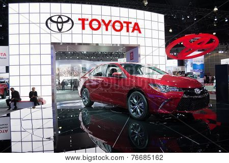 Toyota Camry 2015  On Display