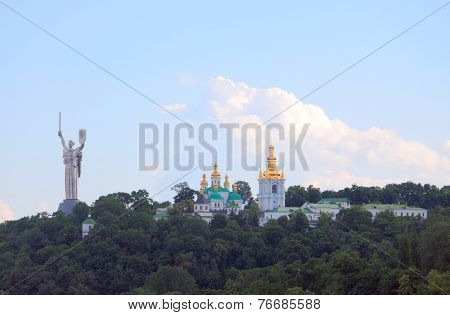 Motherland and Kiev Pechersk Lavra Orthodox Monastery