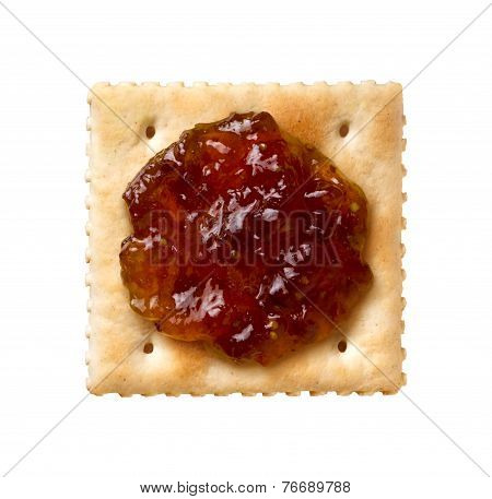 Fig Spread On A Cracker