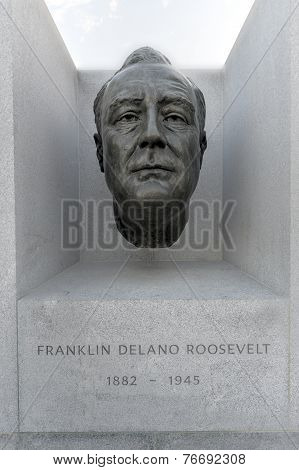 Fdr Four Freedoms Park, Roosevelt Island, New York