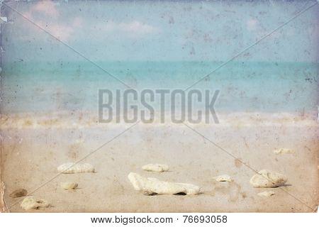 Sea Sand Bluesky (vintage Soft Filtered)