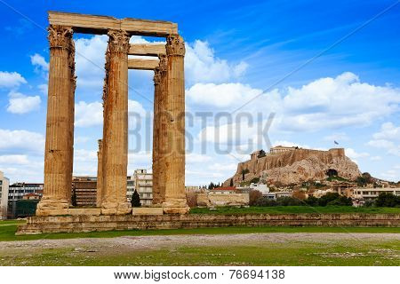 Zeus temple, Athens, Greece